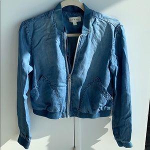 Cloth and stone jean jacket